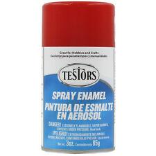 Testors Model Master GLOSS RED Enamel Spray Paint Can  3 oz. 1203
