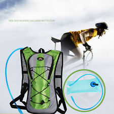 New 2L TPU Water Bag Bladder Hydration System Hiking Camping Cycling Outdoor OE