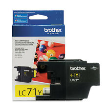 Brother LC71Y Yellow Ink Cartridge