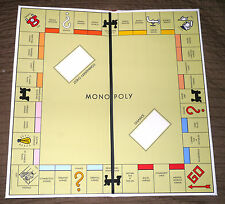 Darrow White Box 1934 Style Reproduction Monopoly Game Board