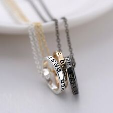 Newly Ring Best Friends Forever Friendship Fashion Necklace Chain Pendant Charm