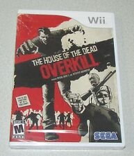 The House of the Dead: Overkill for Nintendo Wii Brand New! Factory Sealed!