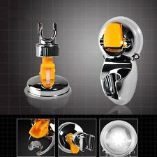 Home Adjustable Attachable Bathroom Shower Head Holder Wall Suction Cup