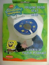 Potty Training Seat Portable Foldable Nickelodeon SpongeBob NIP