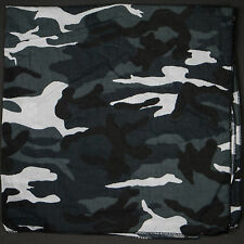Grey Camo Flag Army Bandana Head Band Scarves Army Flag Bandanna Head Band Scarf