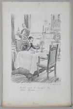HARRY C. TEMPLE  Newspaper Illustration   ''With Not a Single Tie That Binds''