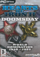 Hearts of Iron 2 II DOOMSDAY - World Domination Strategy PC Game - BRAND NEW!