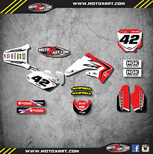 Honda CR 85 - 2002 - 2014 Sticker Kit - REBOUND Style graphics / decals