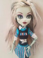Monster High Frankie Stein Doll Argyle GUC