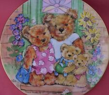 ROYAL WORCESTER PLATE OUR NEW HOME DIANE MATTHES TEDDY FAMILY ALBUMS BOXED