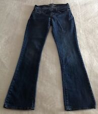 Old Navy Women's Blue Denim Jeans The Sweetheart Boot Cut Size 0