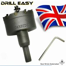 35 mm HSS Metal Wood Alloy Hole Saw Cutter Drill Bit CARBIDE TIP TCT Drill