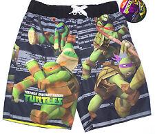 Nwt New Nick Teenage Mutant Ninja Turtles Turtle Swim Trunks Swimsuit Boy 6 7