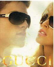 Publicité Advertising 2006 Les Lunettes de soleil Gucci