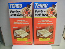 Pantry Moth Traps - ( 2 )-2pks. Grain,Flour,Meal,and Seed Moths,Traps and kills