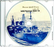 USS Tanner AGS 15 Med Persian Gulf  CRUISE BOOK Log 1960 - 1961 CD