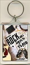 Rock And A Hard Place. The Musical. Keyring / Bag Tag.
