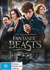 Fantastic Beasts And Where To Find Them BRAND NEW SEALED R4 DVD