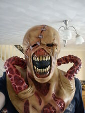 NEMESIS RESIDENT EVIL 3 LATEX MASK ZOMBIE MOVIE GAME COSPLAY WRESTLING NEW 1 2 3