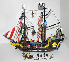 Vintage Lego 6285 BLACK SEAS BARRACUDA - Pirate Ship / Galleon - 100% Complete