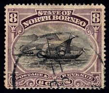 NORTH BORNEO 1894 8c P14.5 Isc#66 USED @P885