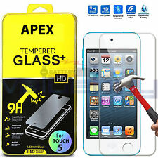 New Premium Real Tempered Glass Screen Protector For Apple iPod Touch 5 5th Gen