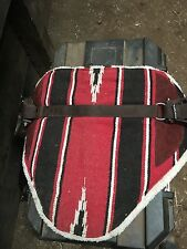 Bareback Pad with Stirrups and Girth