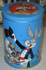 1989 Bugs Bunny 50th Anniversary Brachs Candy Tin - Looney Tunes