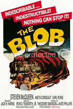 Vintage Science Fiction Horror Movie 11x17 Poster The Blob