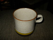 "Denby Potter's Wheel Gold Yellow 3 5/8"" Mug"