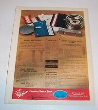 Vintage Honest Charley Speed Shop Magazine Ad 60's 70's Musclecar