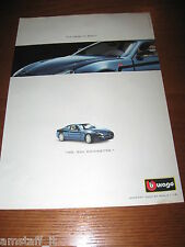*AH19= BURAGO MASERATI 3200 GT=PUBBLICITA'=ADVERTISING=WERBUNG=COUPURE=