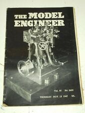 MODEL ENGINEER #2425 VOL 97, NOVEMBER 13TH 1947