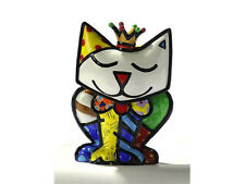"ROMERO BRITTO MINIATURE FIGURINE: ""PRINCESS"" CAT ** NEW **"