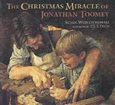 The Christmas Miracle of Jonathan Toomey (Book & CD)-ExLibrary