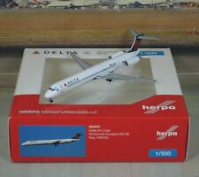 "Herpa Wings Delta (New Color) MD-88 (NG) ""VERY RARE"" 1/500"