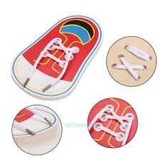 Kids Learn To Tie Shoelaces Threading Shoe Lacing Practice Early Learning Toys