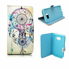 Pocket Magnetic Flip Leather Soft Gel Case Cover For Samsung Galaxy S6 Edge