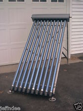 Solar Hot Water Collector Evacuated Glass 10-Tube PANEL - SPECIAL PRICE
