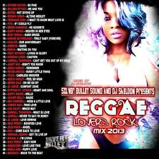 SILVER BULLET SOUND REGGAE & LOVERS ROCK 2013 MIX  CD
