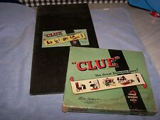 """Vintage Board Game ~ """"CLUE"""" The Great Detective Game! ~ Parker Brothers Inc 1950"""