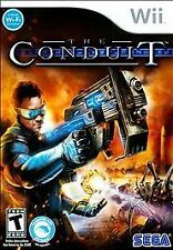 The Conduit Nintendo Wii COMPLETE CIB LikeNew Golf Sci-Fi Shooter Game