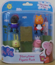 Peppa Pig Once Upon A Time Storytime Figure Pack ~ Peppa, Rebecca, Danny, Candy