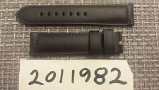 Officine Panerai Calf Strap Rugby Black 24mm x 22mm Brand New for Pin Buckle
