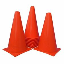 World Sport Set of 15 orange Nine Inch Cones AGILITY TRAINING FIELD MARKING