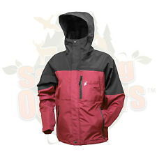SM Frogg Toggs Kids Toad Rage Rain Jacket Two Tone Red and Black NT66301-110SM