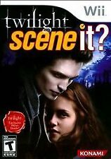 Scene It Twilight (Nintendo Wii, 2009) FREE SHIP W BUY IT NOW