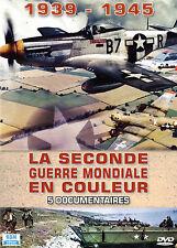DVD La Seconde Guerre mondiale en couleur : 1939 - 1945 / Coffret 5 DVD