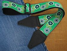 EYE OF THE BEHOLDER Cotton USA made TROPHY Guitar Strap