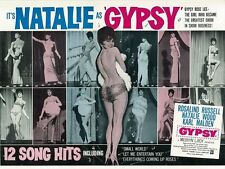 Gypsy movie poster print : 12 x 16 inches : Natalie Wood poster